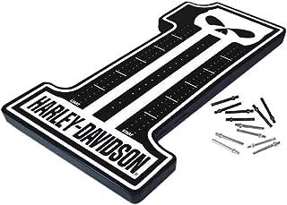 HARLEY-DAVIDSON Dark Custom #1 Skull Cribbage Board - 12 x 8 x 0.75 inch 66928