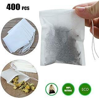 Stringa VUOTA bustine di tè allentato bustina carta da filtro ERBA coulisse UK Shop