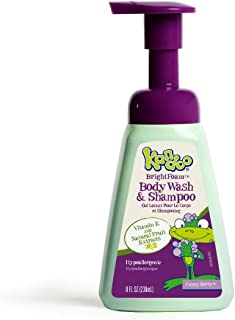 Kandoo BrightFoam Body Wash, Funny Berry Scent, 8.4 Fluid Ounce by Kandoo