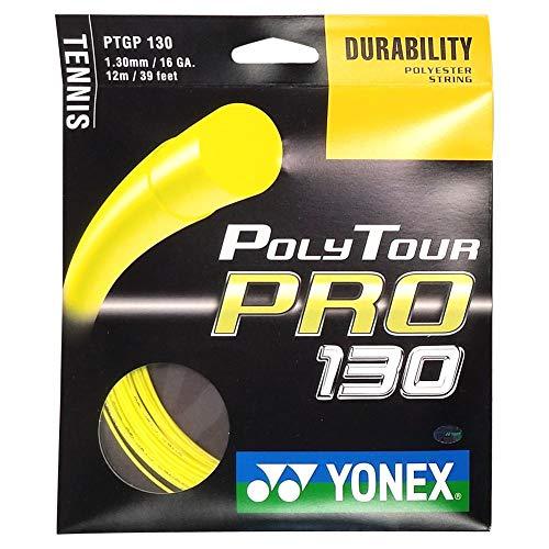 Yonex Saitenset Poly Tour Pro, Gelb, 12 m, 0195220121300016