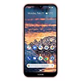 Nokia 4.2 - Android One (Pie) - 32 GB - 13+2 MP Dual Camera - Unlocked Smartphone (at&T/T-Mobile/MetroPCS/Cricket/H2O) - 5.71' HD+ Screen - Pink
