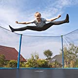 Immagine 1 ultrasport trampolino da giardino adatto