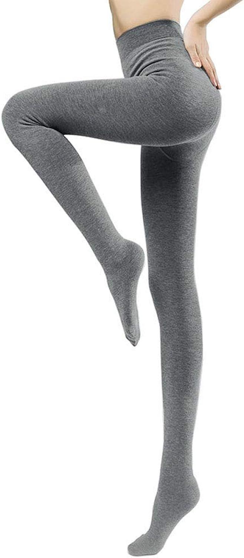 Jeffy & Retro Women's Cotton Tights Pantyhose with Fleece