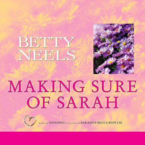 Making Sure of Sarah audiobook cover art