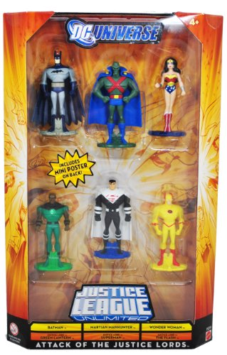 DC Universe Justice League Unlimited Attack of the Justice Lords 6 Pack by DC Comics