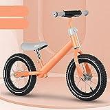 WJS Bicicleta Sin Pedals,Bicicleta De Equilibrio para Niños...