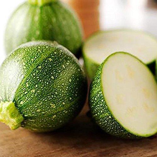 Lonlier Semillas Calabaza Verde 20/30/50 pcs Semillas Hortalizas para Huerto