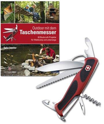 Victorinox Taschenmesser RangerGrip 79 plus Taschenbuch