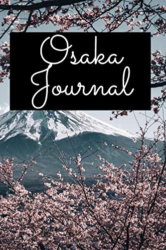 Osaka Journal: Japan Cute Notebook for Couples Travelling in Asia