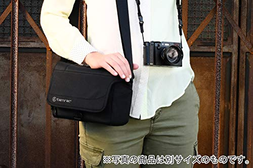 【国内正規品】tamrac カメラバッグ デレコ 5 ブラック カメラショルダー 小型一眼/ミラーレス収納 5.0L T0710-1919
