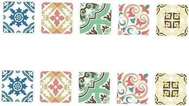 Yililay PVC-lijm tegelstickers geometrie kunst waterdichte muurstickers decoratieve stickers voor slaapkamer keuken kerami...