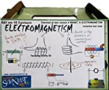Multi activity kit on ELECTROMAGNETISM. Best for learn about electromagnetism for std. 5 to 12. School. Perform more than 25 experiments.