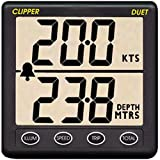 Clipper Duet Instrument Depth Speed Log w/Transducer Marine , Boating Equipment