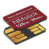 YAOMAISI - Tarjeta NM de 128 GB, 90 MB/S, Tarjeta Nano de Memoria para Huawei P30/P30Pro/P40 Series/Mate20 Series/Mate30...
