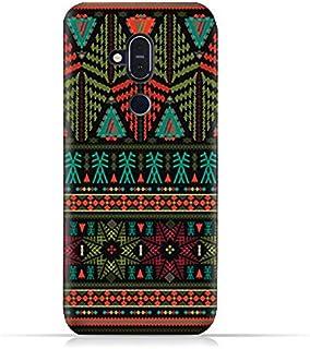 AMC Design Nokia 8.1 / Nokia X7 TPU Silicone Soft Protective Case with Ethnic Grunge Neon Pattern