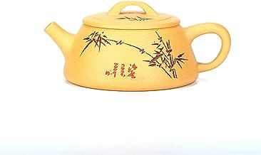 JIAZHOUMA Yixing czajniczek szeroki czajnik Shipiao Kung Fu Zisha naczynie do picia 220 ml