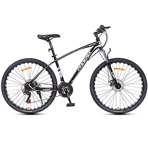 JLFSDB Mountain Bike,26 Inch Unisex Wheels Bicycles,Carbon Steel Frame,Front Suspension and Dual Disc Brake,24 Speed (Color : E)