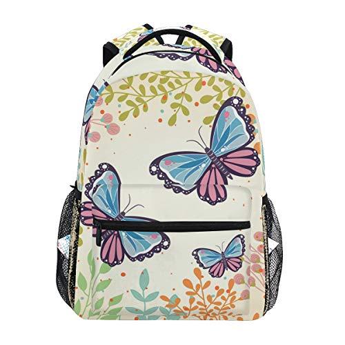 Musik Fuchs Schlittschuh Schulter Student Rucksacks Bookbags Kinderrucksack Büchertasche Rucksäcke für Teen Mädchen Jungs