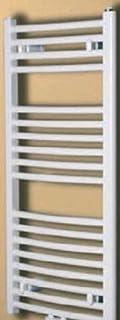 H&S Radiador de baño Eve Lino con ampliación laterales anschlüßen inferior, color blanco, 1869X 495mm, hsg49186