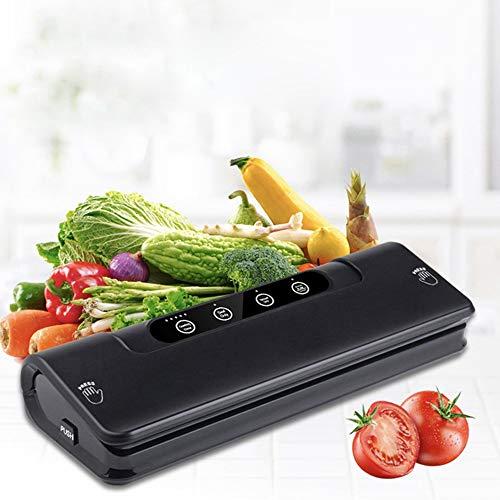 Vacuum Sealer With 15 Bags For Home Best Vacuum Sealer Fresh Packaging Machine Food Saver Vacuum Packaging Machine,Black