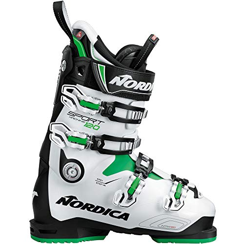 Nordica Sportmachine 120 Skistiefel 050R1800 Black/White/Green Gr. 30