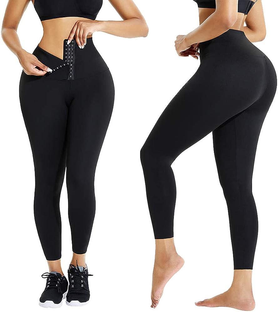 Shipping included HerBose Tummy Control Leggings for Waisted Leg Women High Yoga 1 year warranty