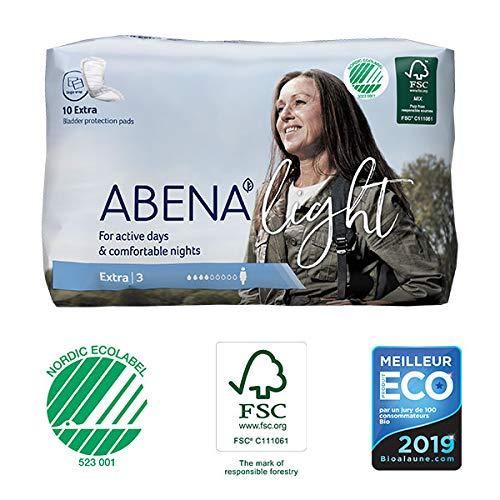 Abena - Protections Anatomiques Light Extra 10 Protections - Lot De 4 - Livraison Rapide En France - Prix Par Lot