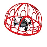 Remote Control Quadcopter Tumbler Drone with 2.4Ghz 4 Channel 6-Axis Gyro Headless Mode and Emergency Stop