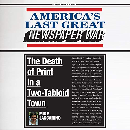 America's Last Great Newspaper War cover art