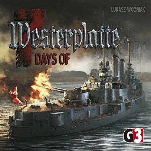 G3 Publishing 104442 - 7 Days of Westerplatte, Brettspiel - Deutsch/Englisch/Polnisch