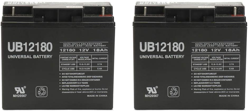 Universal Power Group 12V 18AH 5181 Replaces np18-12 Free Shipping Cheap Bargain Gift SLA latest Battery