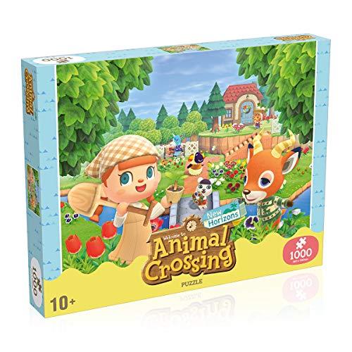 Winning Moves WM00952-ML1-6 Nintendo Puzzles, Multicolor