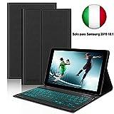 D DINGRICH Tastiera [ Italiano Layout] Custodia per Samsung Galaxy Tab A 10.1SM- T510/SM- T515,...