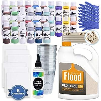 Acrylic Paint Pouring Bundle