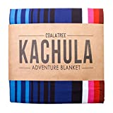 Coalatree Compact Outdoor Adventure Blanket, Pillow, and Emergency Rain Poncho – for Travel, Beach, Picnic, Camping, and Hiking Kachula Blanket V 2.0
