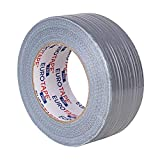 2 Rollo Cinta Americana de Uso General, 48 mm X 50 m, color plata , color plata...