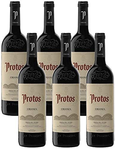 Protos Crianza - Caja de 6 Botellas - Vino Ribera del Duero - Vino seleccionado por Cosecha Privada