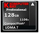 1106x Profesional 128 GB CF Tarjeta de Memoria Komputerbay 167 MB/s Velocidad de Transferencia Rápida DSLR Cámara Digital Filmación Almacenamiento Flash Compacto