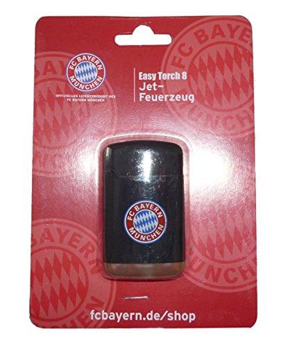 Bayern München 0201921 Feuerzeug, Plastik, schwarz, 6.8 x 4 x 2 cm