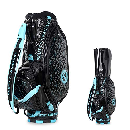 ZPF Golftaschen, wasserdichte und abnehmbare, leichte und strapazierfähige Golftasche mit großem Platzangebot, gepolsterter Gurt, für Amateurprofis
