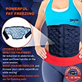 CRYOBOD Fat Freezing Belt - Cold Body Sculpting Kit for Easy Slimming & Weight Loss - Tummy Tuck, Shrink Belt Wrap - Skin-Safe Fat Trimmer to Get Slimmer - For Women and Men - Fits up to 39 Inch Waist
