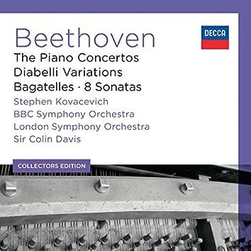Beethoven: The Piano Concertos; Diabelli Variations; Bagatelles; 8 Sonatas (6)