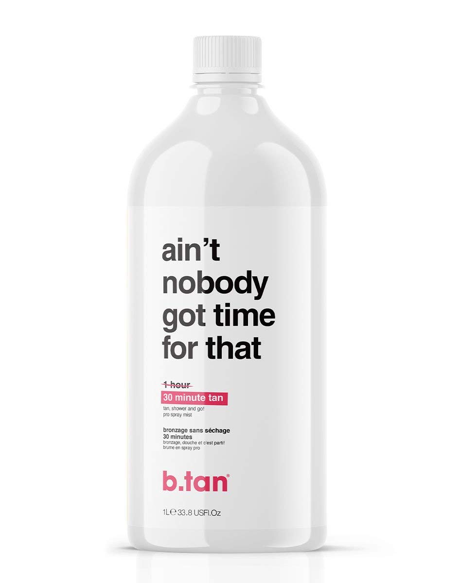 b.tan Spray discount Tan Solution - Ain't Nobody Sp Pro Time That Financial sales sale Got For