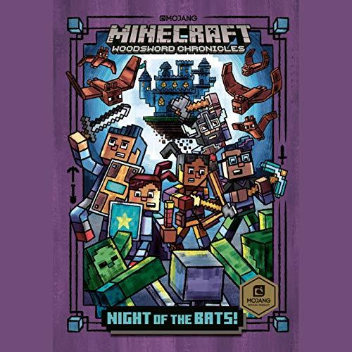 Page de couverture de Night of the Bats!: Minecraft Woodsword Chronicles #2