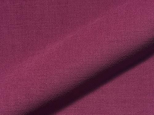 Raumausstatter.de Tissu d'ameublement Princess 5817 uni Couleur Violet comme Housse Solide, Rembourrage Violet uni à Coudre et à Coudre