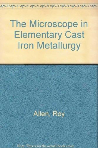 The microscope in elementary cast iron metallurgy,