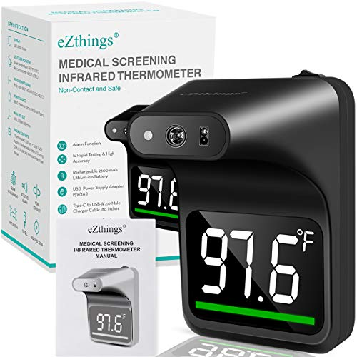Non Contact Medical Screening Forehead Thermometer for Physician Offices and Hospitals
