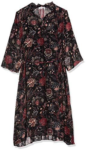 Second Female Damen Freya Dress Kleid, Mehrfarbig (Black 8999), 42 (Herstellergröße: XL)