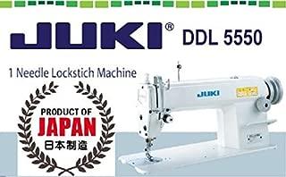 Juki DDL-5550 Industrial Straigh Lockstitch Sewing Machine Made in Japan-Head only