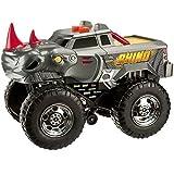 Toy State Road Rippers vehiculo con luz, Sonido de camion y música Wheelie Monsters Roarin' Rhinoceros